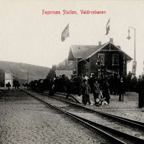 N.K. 1238 Fagernæs Station, Valdresbanen
