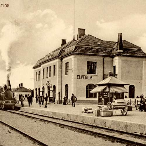 N.K. 1915 Elverum Station